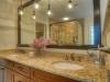 Granite countertop and lighting