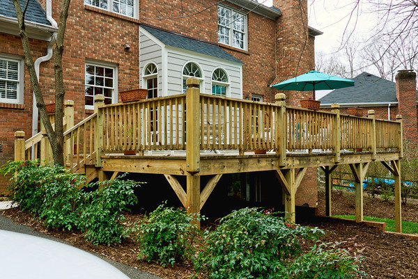 Decks And Patios STEPHEN L MABE BUILDING INC