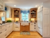 Custom cabinetry affords extra places for all the dishes