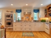 Another view of an updated kitchen from a 19th century home