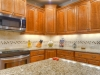 Granite counter top and under counter lighting