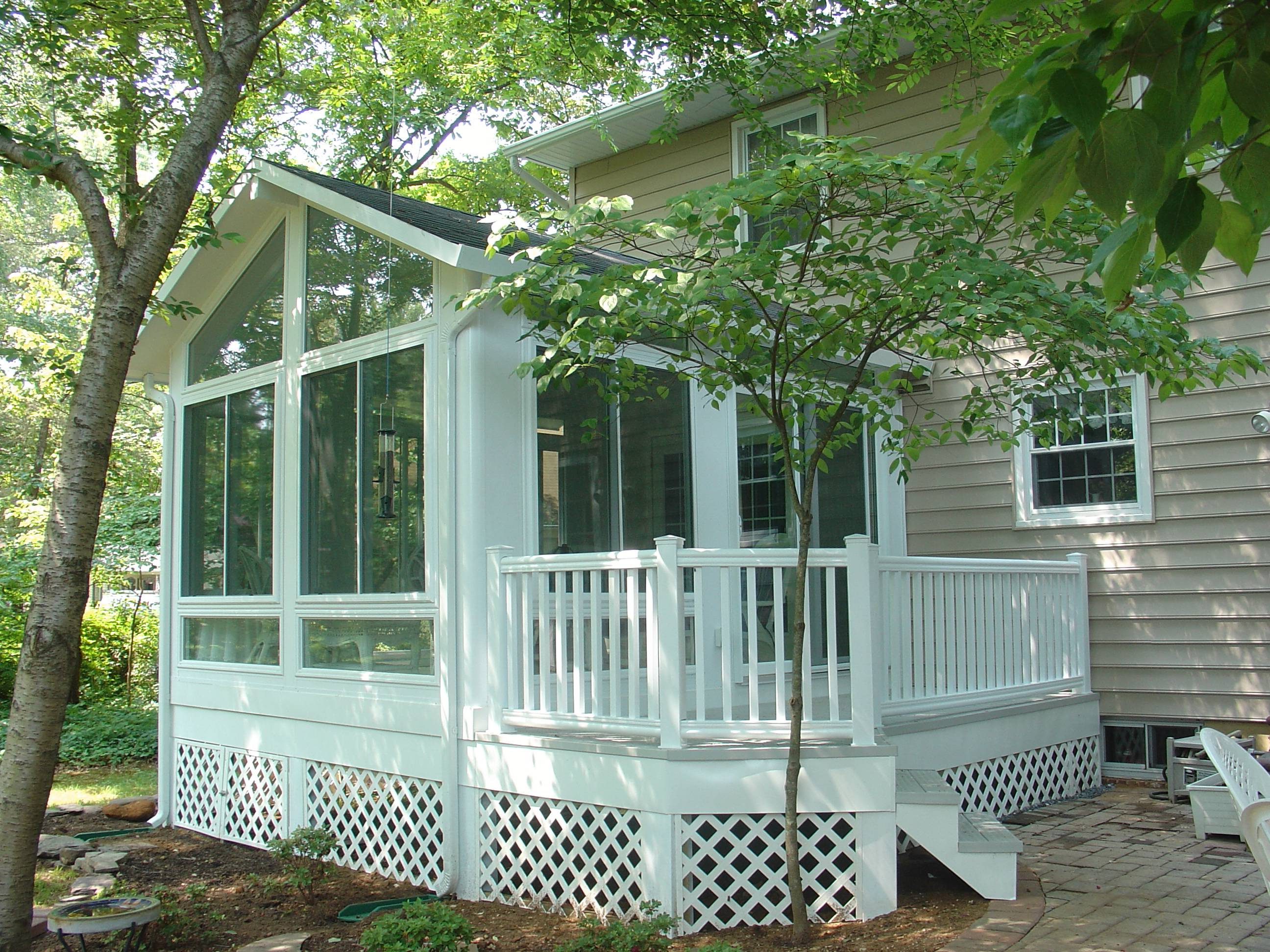 Sunrooms stephen l mabe building inc for House sunroom